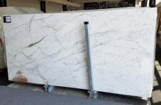 Supply polished slabs 0.8 cm in natural marble CALACATTA VAGLI VENA FINA U0134. Detail image pictures