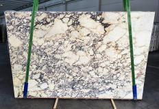 Supply polished slabs 2 cm in natural marble CALACATTA VIOLA 1291. Detail image pictures