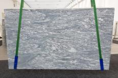 Supply polished slabs 0.8 cm in natural marble CIPOLLINO APUANO #1171. Detail image pictures