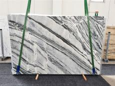 Supply polished slabs 1.2 cm in natural marble CIPOLLINO NERO 1379. Detail image pictures