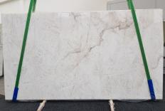 Supply honed slabs 0.8 cm in natural quartzite CRISTALLO 1163. Detail image pictures