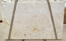Supply polished slabs 0.8 cm in natural quartzite DIAMOND CRISTALLO BQ02283. Detail image pictures