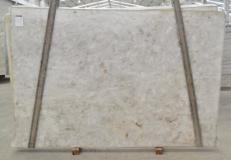 Supply polished slabs 1.2 cm in natural quartzite DIAMOND CRISTALLO BQ02287. Detail image pictures