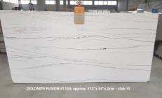 Supply polished slabs 2 cm in natural Dolomite DOLOMITE FUSION 1150. Detail image pictures