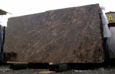 Supply polished slabs 0.8 cm in natural marble EMPERADOR OSCURO E-ED1032. Detail image pictures