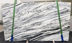 Supply polished slabs 0.8 cm in natural marble FANTASTICO ARNI VENATO 1058. Detail image pictures