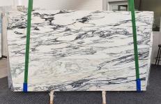 Supply polished slabs 0.8 cm in natural marble FANTASTICO ARNI 1190. Detail image pictures