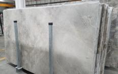 Supply polished slabs 0.8 cm in natural marble FIOR DI BOSCO CHIARO 1342M. Detail image pictures