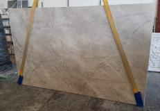 Supply polished slabs 0.8 cm in natural marble FIOR DI BOSCO CHIARO T0111. Detail image pictures