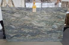 Supply polished slabs 0.8 cm in natural marble FUSION LIGHT AA U0248. Detail image pictures