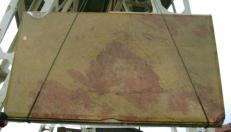 Supply polished slabs 0.8 cm in natural marble GIALLO ANTICO MELANGE edi27011gm. Detail image pictures