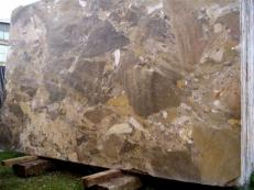Supply polished slabs 0.8 cm in natural marble GIALLO ANTICO MORESCO GIALLO ANTICO MORESC. Detail image pictures
