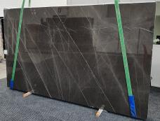 Supply polished slabs 1.2 cm in natural marble GRAFFITE 1324. Detail image pictures