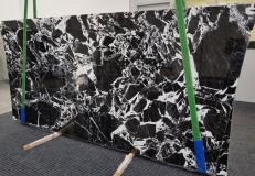 Supply polished slabs 0.8 cm in natural marble GRAND ANTIQUE 1122. Detail image pictures