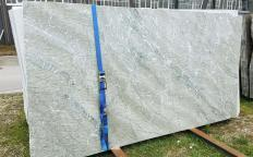 Supply polished slabs 0.8 cm in natural marble GREEN ANTIGUA Z0218. Detail image pictures