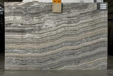 Supply polished slabs 0.8 cm in natural onyx GREY ONYX UL0035. Detail image pictures