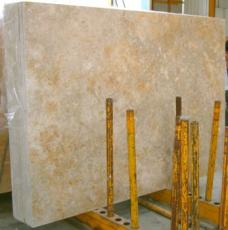 Supply honed slabs 0.8 cm in natural limestone GREY YELLOW - JS4845 J-07171. Detail image pictures