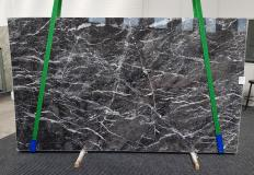 Supply polished slabs 2 cm in natural marble GRIGIO CARNICO 1195. Detail image pictures