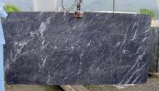 Supply polished slabs 0.8 cm in natural marble GRIGIO CARNICO SRC41125. Detail image pictures