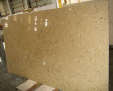 Supply honed slabs 1.2 cm in natural limestone HALILA WITH FOSSILS - JS5555 J_07067. Detail image pictures
