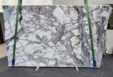Supply polished slabs 0.8 cm in natural Dolomite INVISIBLE GREY 1405. Detail image pictures