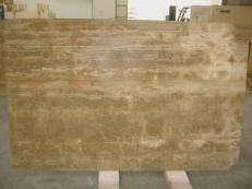 Supply honed slabs 0.8 cm in natural limestone JERUSALEM MINK JS4847 J-07135. Detail image pictures