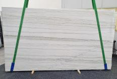 Supply polished slabs 0.8 cm in natural quartzite MACAUBAS WHITE 1341. Detail image pictures