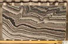 Supply polished slabs 0.8 cm in natural marble MERCURY BLACK TW U08. Detail image pictures