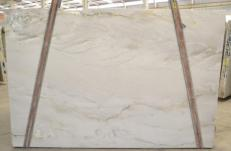 Supply polished slabs 0.8 cm in natural quartzite MONT BLANC BQ 2282. Detail image pictures