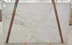Supply polished slabs 3 cm in natural quartzite MONT BLANC BQ02280. Detail image pictures