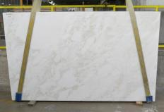 Supply polished slabs 1.2 cm in natural marble MYSTERY WHITE 24915. Detail image pictures