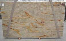 Supply polished slabs 1.2 cm in natural quartzite NACARADO BQ01693. Detail image pictures
