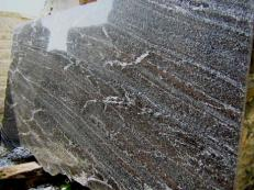 Supply polished slabs 0.8 cm in natural granite NORDIC SUNSET E_S5324. Detail image pictures