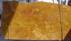 Supply polished slabs 0.8 cm in natural onyx ONYX GOLD E-OG14641. Detail image pictures