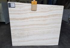 Supply polished slabs 0.8 cm in natural onyx ONYX WAVE UL0037. Detail image pictures