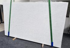 Supply polished slabs 0.8 cm in natural marble OPAL WHITE 1375. Detail image pictures