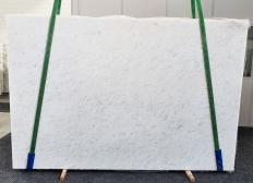Supply polished slabs 1.2 cm in natural marble OPAL WHITE 1382. Detail image pictures