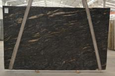 Supply honed slabs 1.2 cm in natural granite orion BQ26664. Detail image pictures