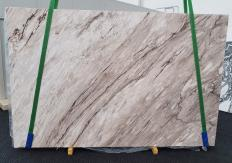 Supply polished slabs 0.8 cm in natural marble PALISSANDRO CLASSICO 1415. Detail image pictures