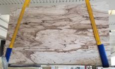 Supply polished slabs 0.8 cm in natural marble PALISSANDRO CLASSICO AA T0046. Detail image pictures