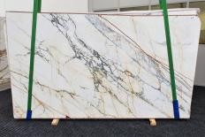 Supply polished slabs 0.8 cm in natural marble PAONAZZO EXTRA 1425. Detail image pictures