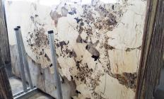 Supply polished slabs 0.8 cm in natural granite PATAGONIA A0382. Detail image pictures