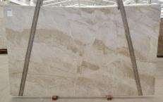 Supply polished slabs 0.8 cm in natural quartzite PERLA VENATA BQ02209. Detail image pictures