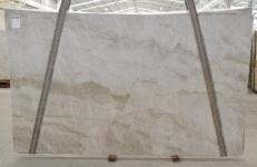 Supply polished slabs 0.8 cm in natural quartzite PERLA VENATA BQ02209. Detail image pictures