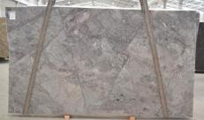 Supply polished slabs 1.2 cm in natural quartzite PLATINUM BQ01821. Detail image pictures