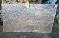 Supply honed slabs 0.8 cm in natural quartzite QUARZITE CIELO T0343. Detail image pictures