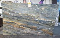 Supply polished slabs 0.8 cm in natural granite SANTORINI Z0012. Detail image pictures