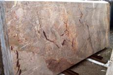 Supply polished slabs 0.8 cm in natural marble SARRANCOLIN IM002027. Detail image pictures
