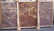 Supply polished slabs 0.8 cm in natural marble SARRANCOLIN E_14449. Detail image pictures