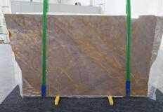 Supply polished slabs 0.8 cm in natural marble SIENA PORPORA 1199P. Detail image pictures
